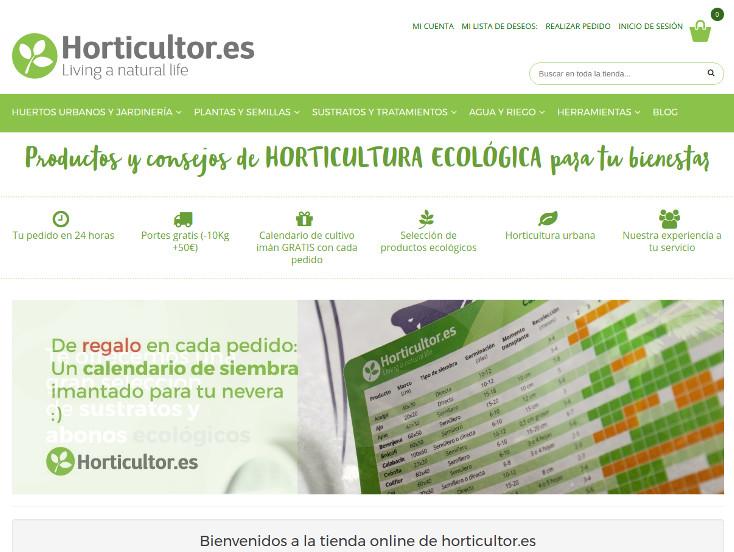 E-commerce Horticultor